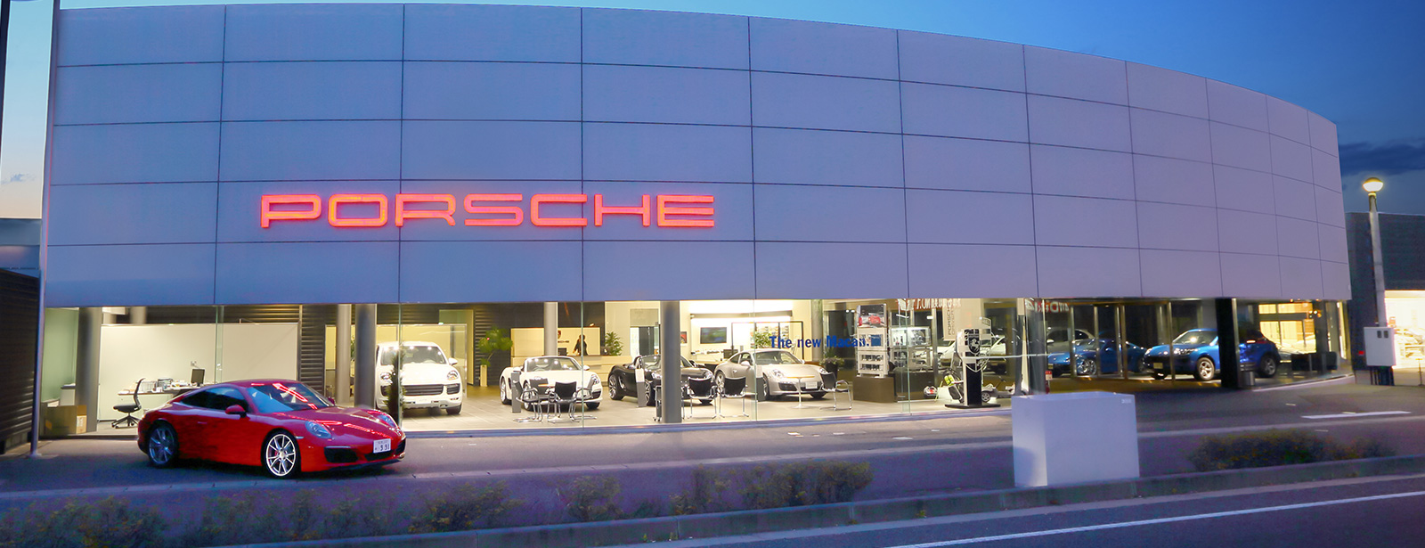 Porsche Center Matsumoto.