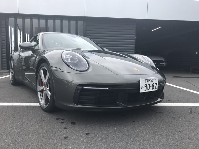 New 911 Carrera 4S
