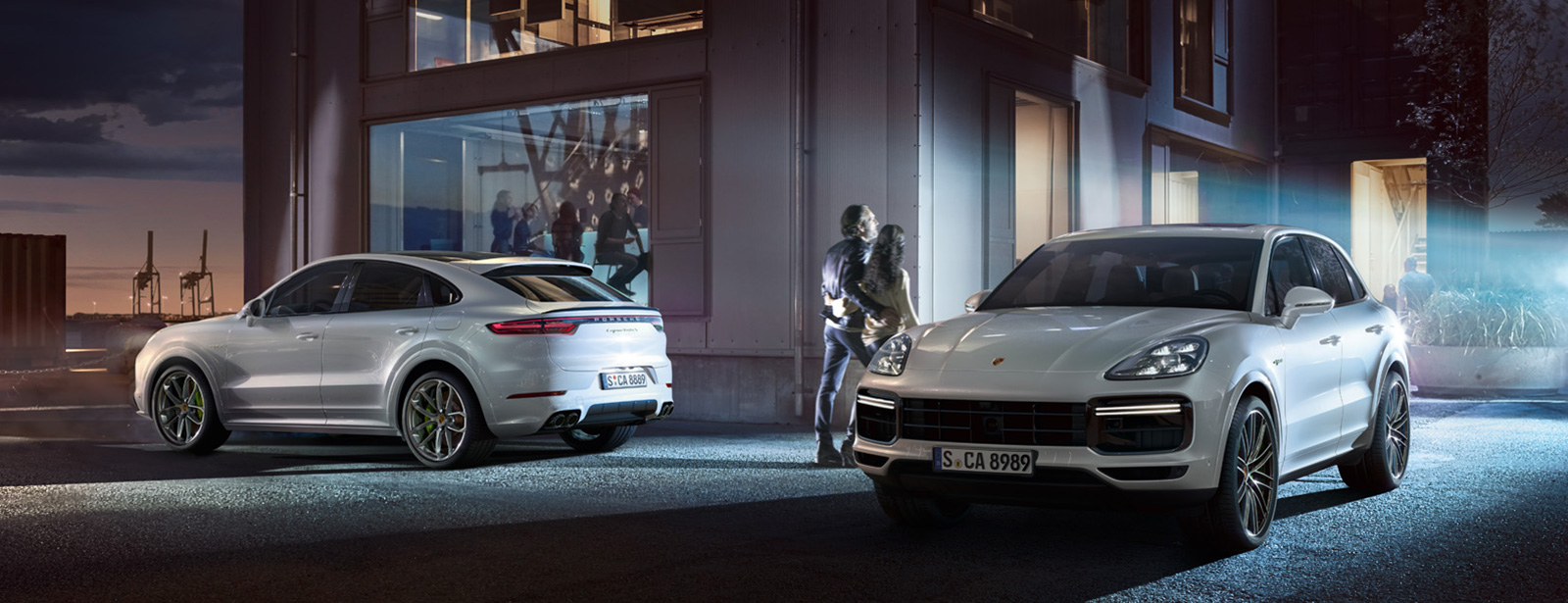 Porsche - The Brand New Cayenne Collection